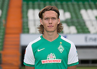 German Soccer Bundesliga 2015/16 - Photocall of Werder Bremen on 10 July 2015 in Bremen, Germany: Jannik Vestergaard
