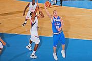 DESCRIZIONE : Bormio Torneo Internazionale Maschile Diego Gianatti Italia Francia <br /> GIOCATORE : Valerio Amoroso <br /> SQUADRA : Nazionale Italia Uomini Italy <br /> EVENTO : Raduno Collegiale Nazionale Maschile <br /> GARA : Italia Francia Italy France <br /> DATA : 02/08/2008 <br /> CATEGORIA : Tiro <br /> SPORT : Pallacanestro <br /> AUTORE : Agenzia Ciamillo-Castoria/S.Silvestri <br /> Galleria : Fip Nazionali 2008 <br /> Fotonotizia : Bormio Torneo Internazionale Maschile Diego Gianatti Italia Francia <br /> Predefinita :