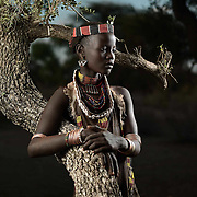 Portrait of Ito Wardo, Lower Omo Valley, Ethiopia.