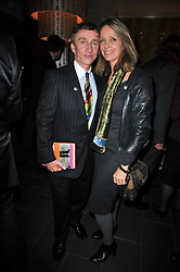 JASPER CONRAN and SABRINA GUINNESS at the launch of Nicky Haslam's autobiography Redeeming Features held at Aqua Nueva, 240 regent Street, London on 5th November 2009.