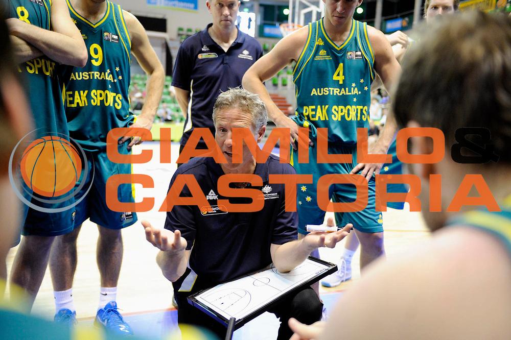 DESCRIZIONE : Tournoi Villeurbanne Preparation Championnat du monde Australie Bresil<br /> GIOCATORE : Brown Brett Coach<br /> SQUADRA : Australie<br /> EVENTO : France Basket Homme 2010<br /> GARA : Australie Bresil<br /> DATA : 22/08/2010<br /> CATEGORIA : Basketball Action Homme<br /> SPORT : Basketball<br /> AUTORE : JF Molliere FFBB par Agenzia Ciamillo-Castoria <br /> Galleria : France Basket Action Homme 2010 <br /> Fotonotizia : Tournoi Villeurbanne Preparation Championnat du monde Australie Bresil<br /> Predefinita :
