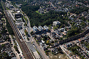 Nederland, Drenthe, Assen, 08-09-2009; omgeving station<br /> surroundings of the railway station<br /> luchtfoto (toeslag); aerial photo (additional fee required); <br /> foto Siebe Swart / photo Siebe Swart