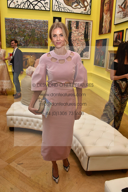 Donna Air at the Royal Academy Of Arts Summer Exhibition Preview Party 2018 held at The Royal Academy, Burlington House, Piccadilly, London, England. 06 June 2018.