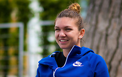 May 14, 2019 - Rome, ITALY - Simona Halep of Romania during a video shoot at the 2019 Internazionali BNL d'Italia WTA Premier 5 tennis tournament (Credit Image: © AFP7 via ZUMA Wire)