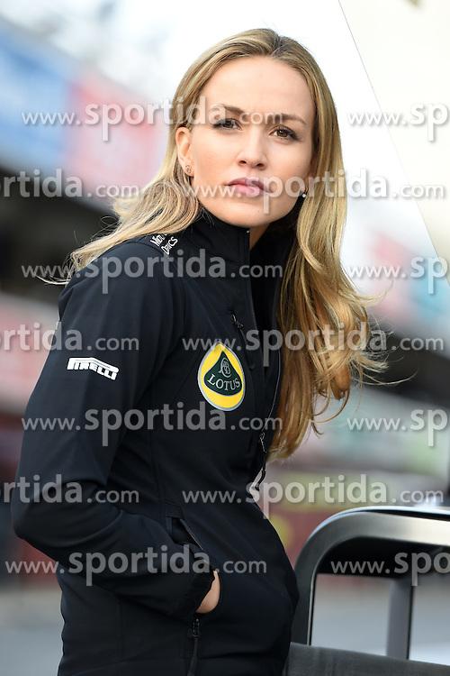 26.02.2015, Circuit de Catalunya, Barcelona, ESP, FIA, Formel 1, Testfahrten, Barcelona, Tag 1, im Bild Carmen Jorda (ESP) Lotus F1 Development Driver // during the Formula One Testdrives, day one at the Circuit de Catalunya in Barcelona, Spain on 2015/02/26. EXPA Pictures &copy; 2015, PhotoCredit: EXPA/ Sutton Images/ Mark Images<br /> <br /> *****ATTENTION - for AUT, SLO, CRO, SRB, BIH, MAZ only*****