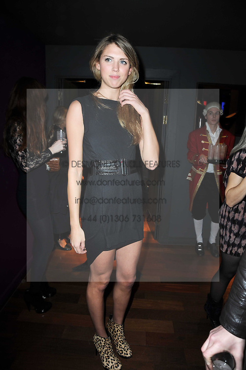 SABRINA PERCY at the Tatler Little Black Book Party held at Chinawhite, 4 Winsley Street, London on 20th November 2009.