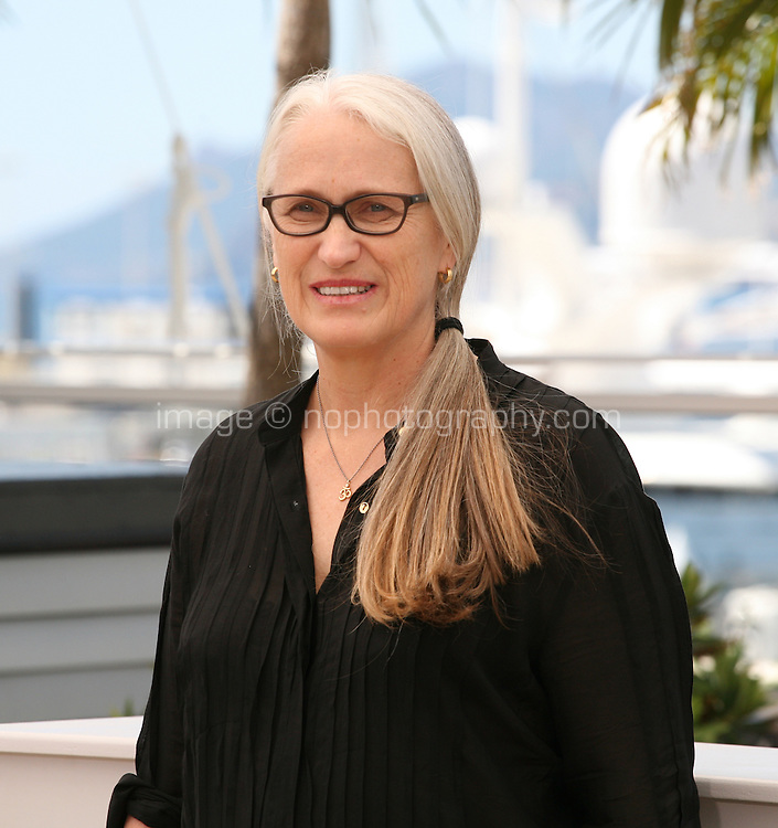 Director Jane Campion at the Jury Cinefondation photocall Cannes Film Festival on Wednesday 22nd May 2013