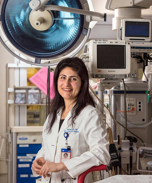 Basmah Safdar, Emergency Medicine doctor | Mara Lavitt