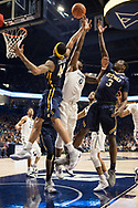December 16, 2017 - Cincinatti, Ohio - Cintas Center: ETSU guard Andre Edwards (44), ETSU guard Bo Hodges (3)<br /> <br /> Image Credit: Kevin Schultz