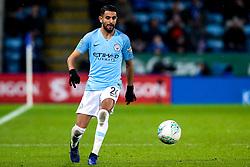 Riyad Mahrez of Manchester City - Mandatory by-line: Robbie Stephenson/JMP - 18/12/2018 - FOOTBALL - King Power Stadium - Leicester, England - Leicester City v Manchester City - Carabao Cup Quarter Finals
