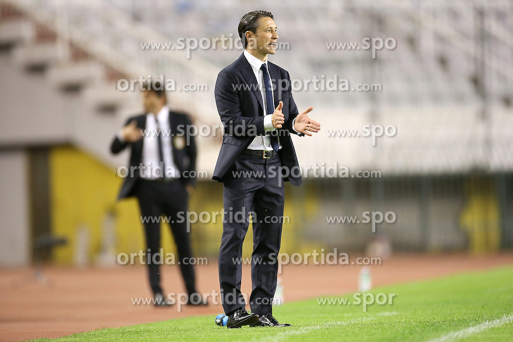 12.06.2015, Stadion Poljud, Split, CRO, UEFA Euro 2016 Qualifikation, Kroatien vs Italien, Gruppe H, im Bild Niko Kovac // during the UEFA EURO 2016 qualifier group H match between Croatia and and Italy at the Stadion Poljud in Split, Croatia on 2015/06/12. EXPA Pictures &copy; 2015, PhotoCredit: EXPA/ Pixsell/ Igor Kralj<br /> <br /> *****ATTENTION - for AUT, SLO, SUI, SWE, ITA, FRA only*****
