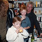 Boekpresentatie Broodje Halfom Bart Chabot, kinderen zonen