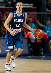 Nando de Colo of France during  the eight-final basketball match between National teams of Turkey and France at 2010 FIBA World Championships on September 5, 2010 at the Sinan Erdem Dome in Istanbul, Turkey. (Photo By Vid Ponikvar / Sportida.com)