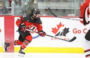 The Canadian Olympic Women's Hockey Team plays a game versus Airdrie at WinSport in Calgary, Alberta on October 3rd, 2017.