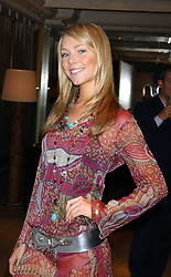 EDWINA LATTRASS at fashion label Wheels & Dollbaby's summer party at the Embassy nightclub, Old Burlington Street, London W1 on 19th July 2005.<br /><br />NON EXCLUSIVE - WORLD RIGHTS