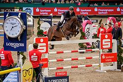 JUNG Michael (GER), Fischerchelsea<br /> Leipzig - Partner Pferd 2020<br /> Longines FEI Jumping World Cup™Qualifikations-Prüfung<br /> Springprfg. nach Fehlern und Zeit, international<br /> 17. Januar 2020<br /> © www.sportfotos-lafrentz.de/Stefan Lafrentz