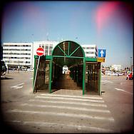 Italie, Venise, Canaregio..Piazzale Roma arrivée des bus..© Jean-Patrick Di Silvestro