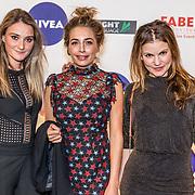 NLD/Amsterdam/20170328 - Uitreiking Tv Beelden 2017, Shelly Sterk, ........ en Linda Hakeboom
