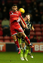 Zeli Ismail of Walsall challenges  - Mandatory by-line: Robbie Stephenson/JMP - 26/12/2017 - FOOTBALL - Banks's Stadium - Walsall, England - Walsall v Bristol Rovers - Sky Bet League One