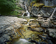 AA02169-04...MONTANA - Aster Falls in the Two Medicine area of Glacier National Park.