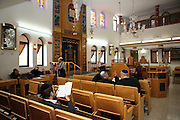 Interior of a synagogue
