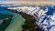 USA-Alaska-Southeast-Glacier Bay National Park-Aerial Views