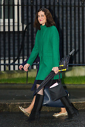 © Licensed to London News Pictures. 15/12/2015. London, UK. THERESA VILLIERS arrives for a cabinet meeting in Downing Street. Photo credit : Vickie Flores/LNP