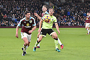 Burnley Midfielder, George Boyd (21) and Bournemouth Midfielder, Dan Gosling (4) during the Premier League match between Burnley and Bournemouth at Turf Moor, Burnley, England on 10 December 2016. Photo by Mark Pollitt.