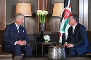 Prince Charles Meets King Abdullah ll, Jordan