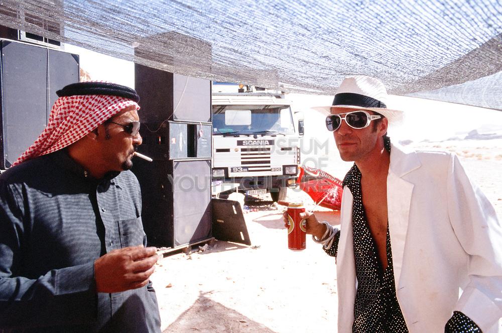 Two men at Middle East Tek, Wadi Rum, Jordan, 2008