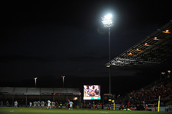 General view of Sandy Park  - Photo mandatory by-line: Harry Trump/JMP - Mobile: 07966 386802 - 14/02/15 - SPORT - Rugby - Aviva Premiership - Sandy Park, Exeter, England - Exeter Chiefs v Newcastle Falcons