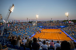 1st round of singles at Plava Laguna Croatia Open Umag, on July 18, 2017 in Stadium Gorana Ivanisevica, Umag, Croatia. Photo by Urban Urbanc / Sportida