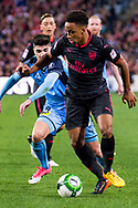 July 13 2017: Arsenal player Cohen Bramall (40) at the International soccer match between English Premier League giants Arsenal and A-League premiers Sydney FC at ANZ Stadium in Sydney.