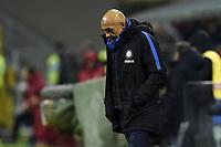 Luciano Spalletti Inter Delusione Dejection <br /> Milano 27-12-2017 Stadio Giuseppe Meazza in San Siro Calcio Coppa Italia Milan - Inter foto Image Sport/Insidefoto