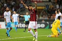 Milano - 28.09.2017 - Milan-Rijeka - Europa League   - nella foto:   Patrick Cutrone