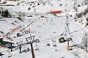 Israel, Hermon Mountain sky resort