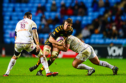 Will Rowlands of Wasps - Mandatory by-line: Dougie Allward/JMP - 18/01/2020 - RUGBY - Ricoh Arena - Coventry, England - Wasps v Bordeaux-Begles - European Rugby Challenge Cup