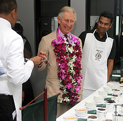 60723707 <br /> Britain's Prince Charles visits the Mackwoods Labookellie Tea Estate in Kandy, Sri Lanka, Nov. 16, 2013. The Royal couple is taking a visit to Sri Lanka to attend the 2013 Commonwealth Heads of Government Meeting, Saturday, 16th November 2013. Picture by  imago / i-Images<br /> UK ONLY