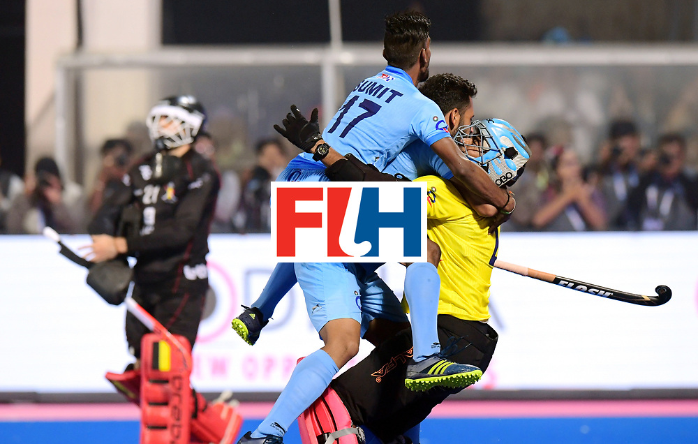 Odisha Men's Hockey World League Final Bhubaneswar 2017<br /> Match id:13<br /> Belgium v India<br /> Foto: Shoot Out<br /> India wins the Shoot Out<br /> COPYRIGHT WORLDSPORTPICS FRANK UIJLENBROEK