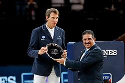 VON ECKERMANN Henrik (SWE)<br /> Paris - FEI World Cup Finals 2018<br /> Longines FEI World Cup Jumping Final IV<br /> www.sportfotos-lafrentz.de/Stefan Lafrentz<br /> 15. April 2018