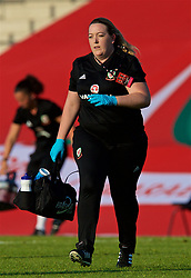 NEWPORT, WALES - Tuesday, June 12, 2018: Wales' Hillary Gannon during the FIFA Women's World Cup 2019 Qualifying Round Group 1 match between Wales and Russia at Newport Stadium. (Pic by David Rawcliffe/Propaganda)