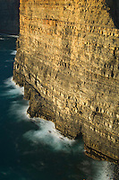 Cliff near de Arrifana Beach. Southwest Alentejo and Vicentine Coast Natural Park, Portugal.