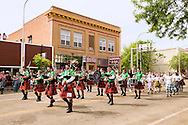 Parade, Miles City Bucking Horse Sale, Montana, Caledonian Pipe Band