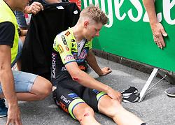 11.07.2019, Kitzbühel, AUT, Ö-Tour, Österreich Radrundfahrt, 5. Etappe, von Bruck an der Glocknerstraße nach Kitzbühel (161,9 km), im Bild Sebastian Schönberger (AUT, Neri Sottoli - Selle Italia - KTM) // Sebastian Schönberger of Austria (Neri Sottoli - Selle Italia - KTM) during 5th stage from Bruck an der Glocknerstraße to Kitzbühel (161,9 km) of the 2019 Tour of Austria. Kitzbühel, Austria on 2019/07/11. EXPA Pictures © 2019, PhotoCredit: EXPA/ Reinhard Eisenbauer