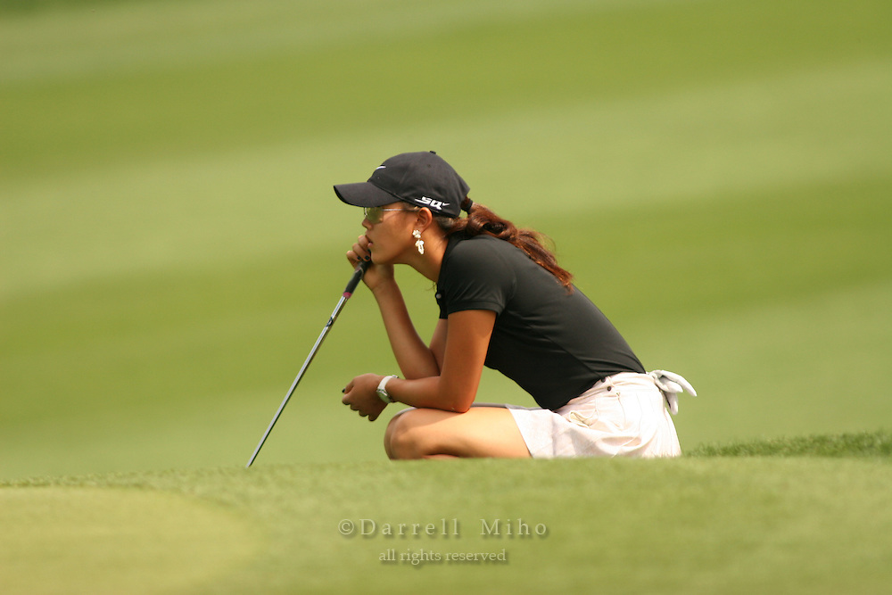 Apr. 1, 2006; Rancho Mirage, CA, USA; Michelle Wie during the 3rd round of the Kraft Nabisco Championship at Mission Hills Country Club. ..Mandatory Photo Credit: Darrell Miho.Copyright © 2006 Darrell Miho .