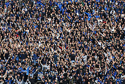 January 21, 2018 - Bergamo, Italy - Atalanta supporters  during the Italian Serie A football match Atalanta Vs Napoli on January 21, 2018 at the 'Atleti Azzurri d'Italia Stadium' in Bergamo. (Credit Image: © Matteo Ciambelli/NurPhoto via ZUMA Press)