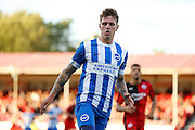 Glen Rea in action during the Pre-Season Friendly match between Crawley Town and Brighton and Hove Albion at the Checkatrade.com Stadium, Crawley, England on 22 July 2015. Photo by Michael Hulf.