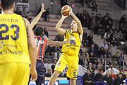 DESCRIZIONE : Ancona Lega A 2012-13 Sutor Montegranaro Angelico Biella<br /> GIOCATORE : Daniele Cinciarini<br /> CATEGORIA : tiro three points<br /> SQUADRA : Sutor Montegranaro<br /> EVENTO : Campionato Lega A 2012-2013 <br /> GARA : Sutor Montegranaro Angelico Biella<br /> DATA : 02/12/2012<br /> SPORT : Pallacanestro <br /> AUTORE : Agenzia Ciamillo-Castoria/C.De Massis<br /> Galleria : Lega Basket A 2012-2013  <br /> Fotonotizia : Ancona Lega A 2012-13 Sutor Montegranaro Angelico Biella<br /> Predefinita :