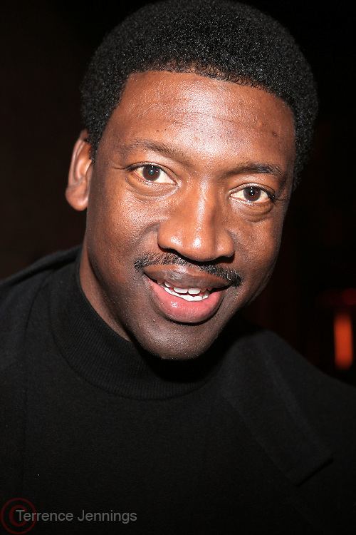 """Johnny Newman at The Russell Simmons and Spike Lee  co-hosted """"I AM C.H.A.N.G.E!"""" Get out the Vote Party presented by The Source Magazine and The HipHop Summit Action Network held at Home on October 30, 2008 in New York City"""