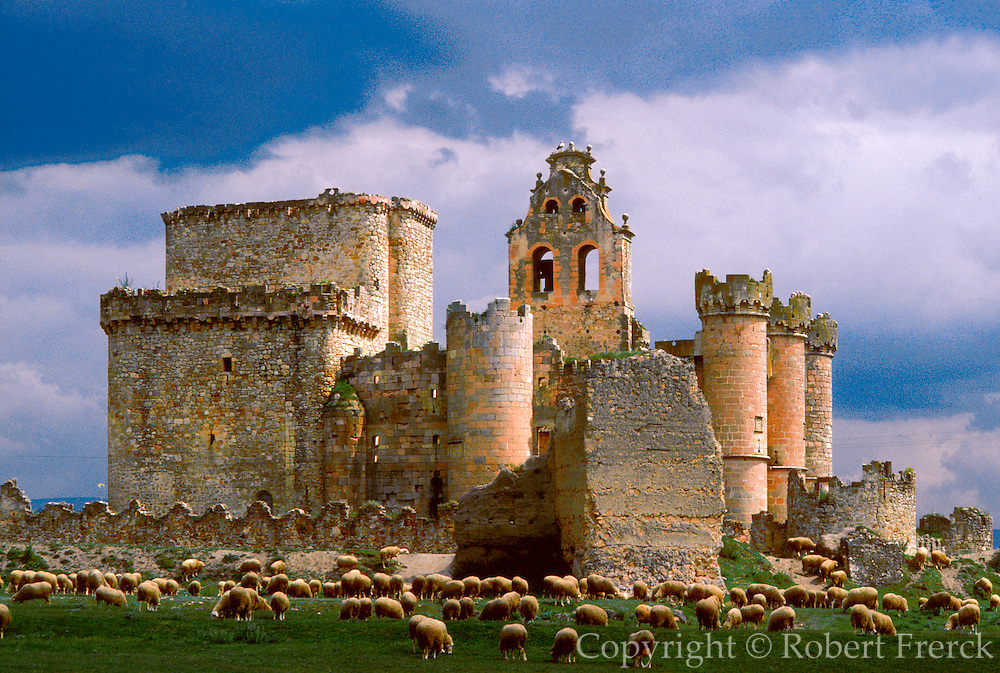 SPAIN, CASTILE  and amp; LEON Turegano Castle near Segovia